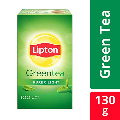 Lipton Pure & Light Green Tea Bags, 100 Pieces