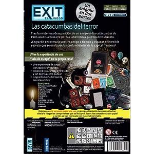 Devir- BGEXIT9 Exit – Las catacumbas del Terror, Multicolor (1)