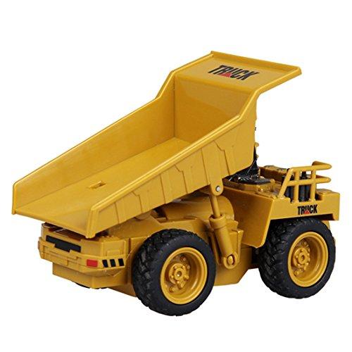 RC Auto kaufen LKW Bild 2: GUOGUO RC Truck 1:16 Mini Baustelle Spielzeug Baufahrzeuge Ferngesteuert für Kinder (Gabelstapler)*