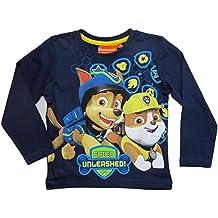 Paw Patrol Kollektion 2018 Langarmshirt 92 98 104 110 116 122 128 Shirt Jungen Neu Top Blau