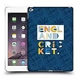 Head Case Designs Offizielle England and Wales Cricket Board Streifen Text 2018/19 Kinder Typographie Ruckseite Hülle für iPad Air 2 (2014)
