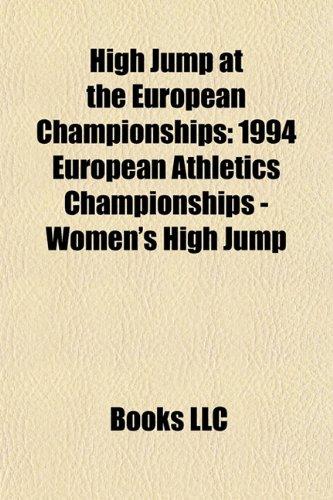High Jump at the European Championships