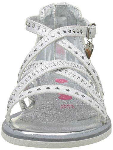 ASSO 40716, Spartiates Fille Blanc (white)