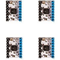 Paquete de 4 unidades TMC 2208 Stepstick Stepper Motor Driver Módulo + Fregadero de calor para impresora 3D