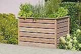 Gartenwelt Riegelsberger Elegantes Hochbeet 125x85xH80 cm Lärche Natur 20x120mm Kräuterbeet Pflanzbeet Gemüsebeet