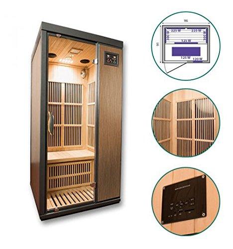 Sauna infrarrojos Daario–1plaza