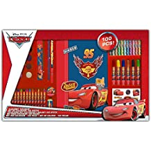 Arditex - 066369 - Coloriage Disney - Malette De Coloriage - Cars - 100 Pièces