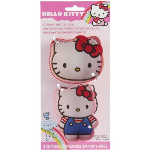 Metal Cookie Cutter Set 2/Pkg-Hello Kitty - Metal Cookie Cutter