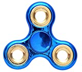 #4: Toykart® Exclusive Chrome Edition Fidget Spinner, Blue Gold
