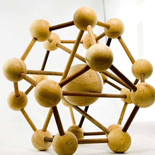 IQ MASTER - The Galaxy - Riesen-Knobelspiel - Geschicklichkeitsspiel als originelle Geschenk-Idee für Männer Frauen Kinder - Holzspielzeug für Rätselfans