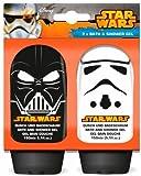 Star Wars-The Clone Wars Darth Vader Jedi Yoda Jungen Duschgel & Badeschaum 2 x 150ml - orange -