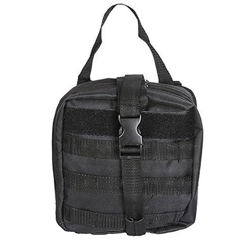 Sweetds Taktische Molle Pouch Utility Medizinische Erste-Hilfe-Tasche Holster Holder Military Gadget Taille Tasche für Camping Wandern Outdoor