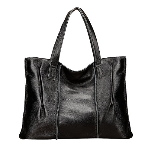 Frauen Neue Art Und Weise Schulter-Top Griff Tasche Damen Freizeit Kreuzkörper Black