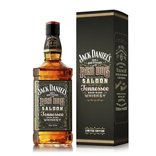 Jack Daniel's Red Dog Saloon - Limited Edition in der Geschenkbox Bourbon Whiskey (1 x 0.7 l)