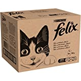 Felix Mixed Selection in Jelly Cat Food, 80 x 100 g