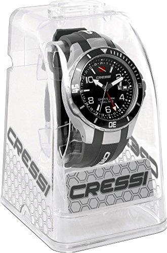 Cressi Dual - Reloj de buceo con doble huso horario, cristal mineral 86.87€