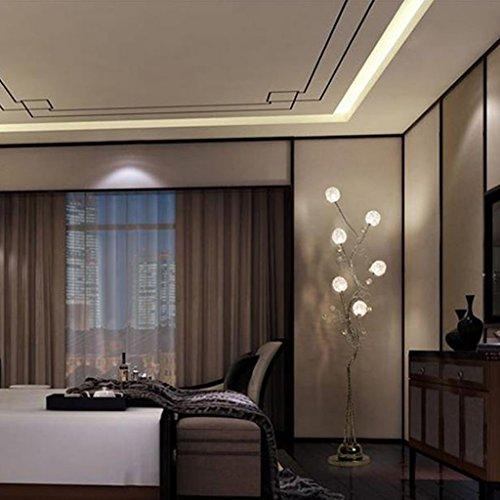 Irgendeine Heimatlampe Led Fernbedienung vertikale Stehleuchte, Aluminium Couchtisch vertikale Lampe moderne einfache kreative Stehleuchte ( ausgabe : Fernbedienungsschalter ) - 4