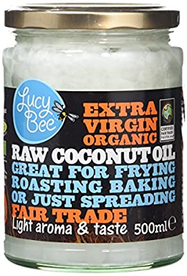 Lucy Bee Sri Lankan Extra Virgin Organic Coconut Oil 500ml from Lucy Bee