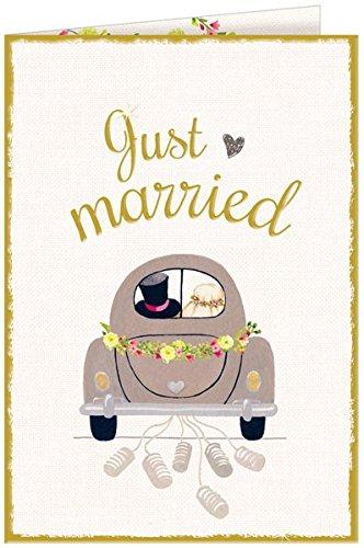 Grußkarte - Just married