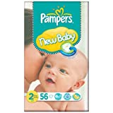 Pampers New Baby Taille 2 (3-6kg) Essential Pack Mini 3x56 par paquet