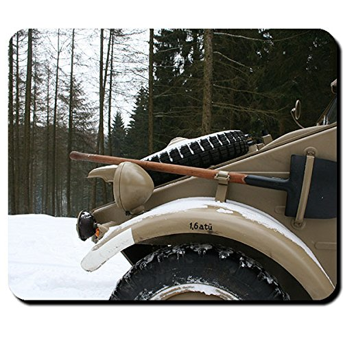 Fioriera carrello Oldtimer Typ 82KUEBEL Germania ostfront WK 2foto-Mouse Pad