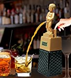 Bonny boy square golden liquor dispenser