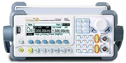 Gowe Allgemeine Source Funktion/Signal Generator 20 MHz Dual Channel/4 K Points Of Memory Tiefe 20 Mhz Dual-channel