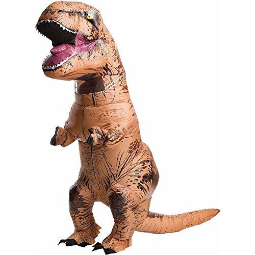 Papaxiong Aufblasbares Kostüm für Erwachsene, T-REX Dinosaurier-Kostüm, lustiges Jurassic Halloween Aufblas-Outfit (Lustige T Rex Kostüm)
