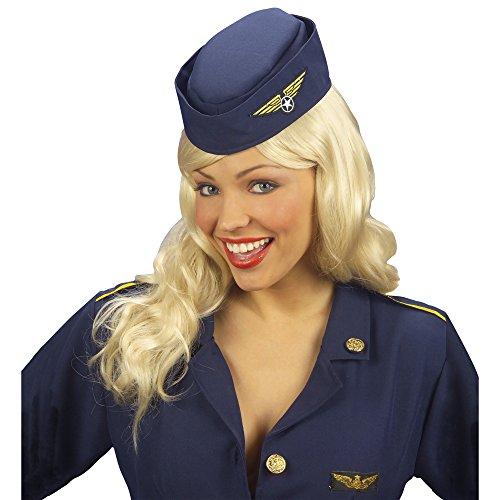 (Stewardess Haube Hut Flugbegleiterin Schiffchen)