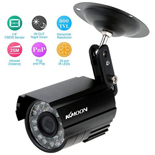 KKMOON HD 800TVL 24 LED IR CCTV