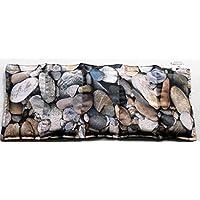 Preisvergleich für Dinkelkissen Körnerkissen Wärmekissen Motiv Steine 50x20 mit Schutzengel Schlüsselanhänger