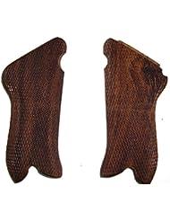 WW2 Allemand Luger P08 pistolet poignées en bois