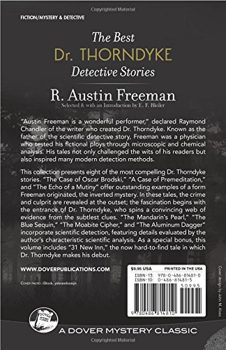 Best Dr. Thorndyke Detective Stories (Dover Mystery Classic)