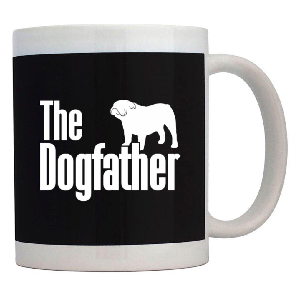 Teeburon The dogfather Bulldog Tazza
