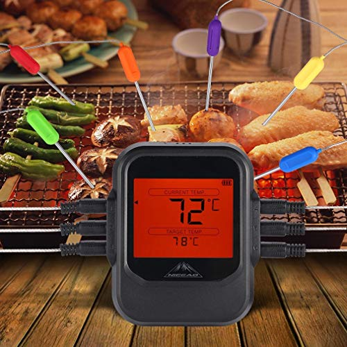 Gusaman Funk Grillthermometer | Braten Thermometer | Fleischthermometer BBQ 0℃-380℃ BA -