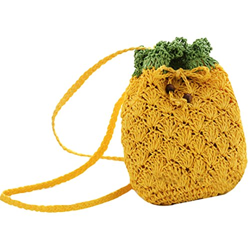 LA HAUTE , Borsa da spiaggia  pineapple small pineapple