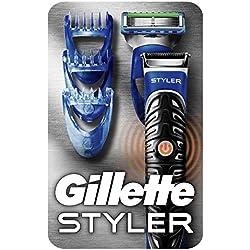 Gillette 3-in-1 Styler Barttrimmer, Rasierer und Definierer