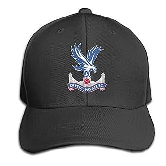 ZoeyStyle Crystal Palace Football Club Logo Adjustable Peaked Baseball Caps Hats For Unisex