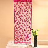 Ying LAN String Schmetterling Tür Fenster Vorhang Drapes Trennwand Zimmer Blind Shades Quaste Behandlung, Textil, rosarot, Einheitsgröße