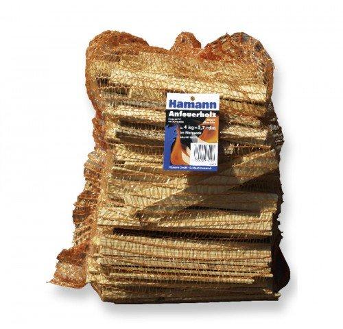 Anfeuerholz 5,0 dm³ reine Holzmasse = einem Raumvolumen von 9,5 rdm 3 kg - sofort Ofenfertig