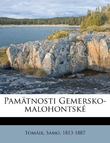 Pamätnosti Gemersko-malohontské