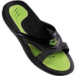 Arena Hydrofit Man Hook Zapatos de Playa y Piscina, Hombre, Negro Black 056, 47 EU