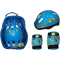 KRF Children Set Sac à dos + set de protection Bleu