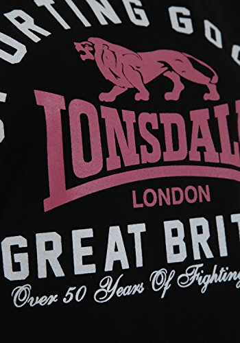 Lonsdale Damen STOCKPORT Black