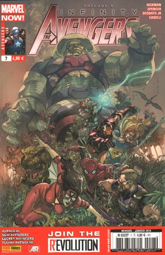 Avengers, Tome 7 : Prelude a infinity !