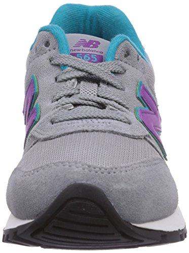 New Balance 565, Low-Top Sneaker femme gris (Grey/Purple)