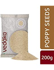 Amazon Brand - Vedaka Poppy Seeds (Khus Khus), 200g