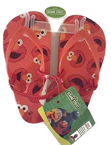 Sesame Street Unisex Kids Charcater Thong Flip Flops