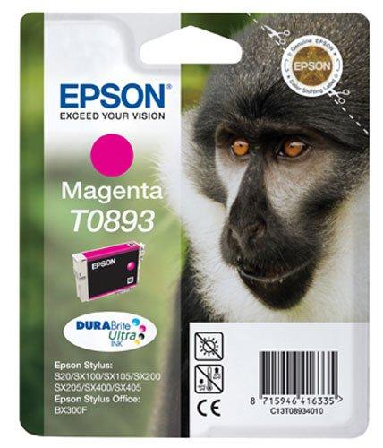 Epson t089340/10 stylus sx200/400 inkjet/getto d'inchiostro cartuccia originale