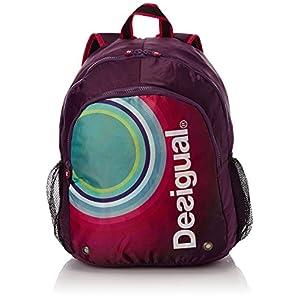 Desigual Tasche Mochila Galactic – Bolsa para colchoneta de yoga, color morado, talla 40 x 30 x 25 cm